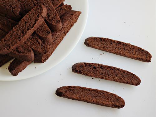 Hot Chocolate Biscotti