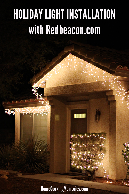 Redbeacon Christmas Light Installation