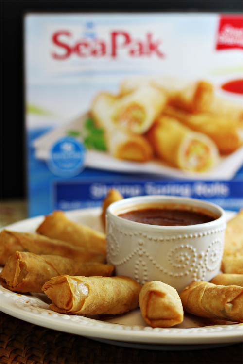 SeaPak Shrimp Spring Rolls #PakTheParty #shop #cbias