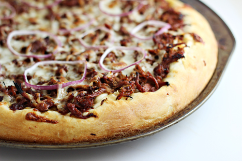 Sweet Korean BBQ Pizza