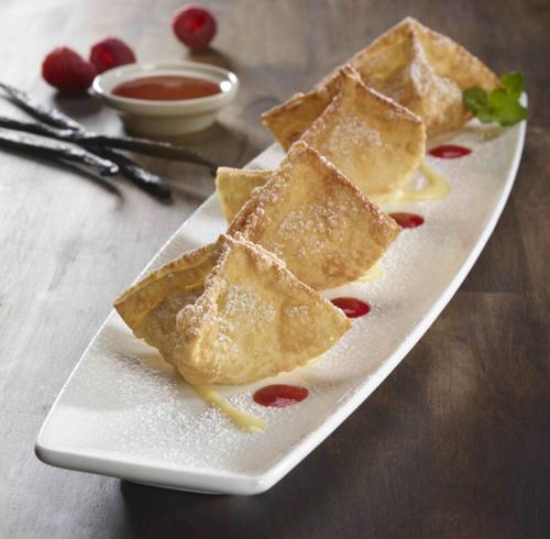 Sweet Vanilla Cream Wontons at P.F. Chang's
