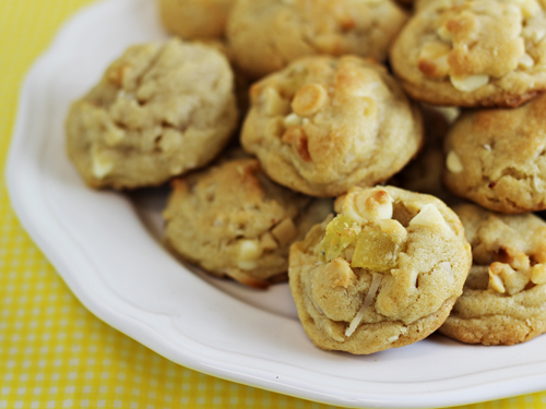 Tropical White Chocolate Chip Cookies