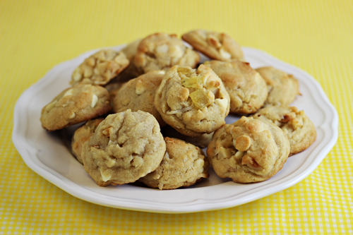 Tropical White Chocolate Chip Cookies 4
