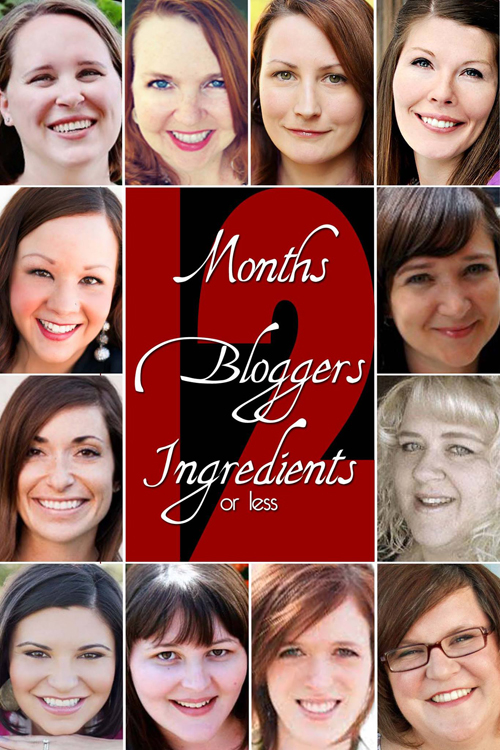 12 Months, 12 Bloggers, 12 Ingredients