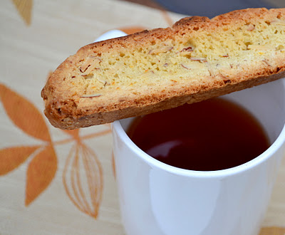Almond Orange Biscotti from Little Ferraro Kitchen