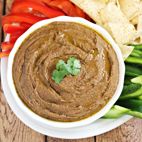 Easy Black Bean Chipotle Dip Recipe - Home Cooking Memories
