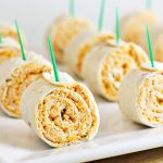 Buffalo Chicken Tortilla Pinwheels Recipe