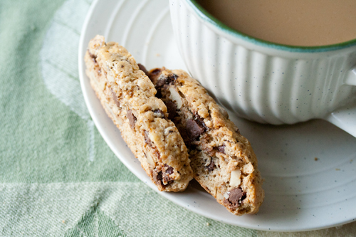 Cappuccino Biscotti from Crumb Blog