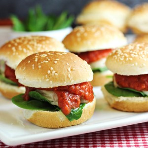 Chicken Parmesan Sliders Recipe