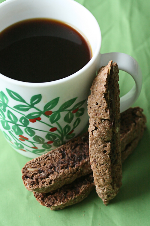 Chocolate Brownie Biscotti from Crumb