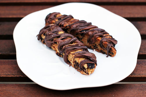 Chocolate Cherry Biscotti from This Week for Dinner