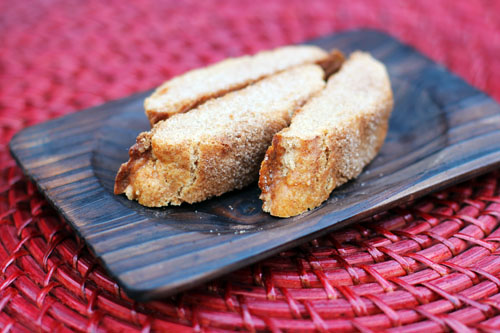 Cinnamon Sugar Biscotti from This Week for Dinner