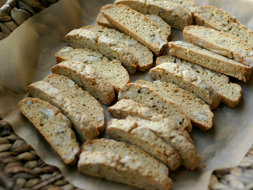 Cinnamon Walnut Biscotti from Everyday Maven