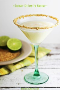 Coconut-Key Lime Pie Martini 1