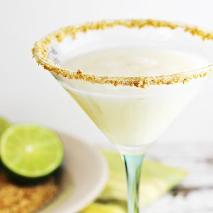Coconut-Key Lime Pie Martini Recipe