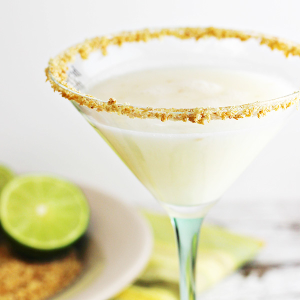 Coconut-Key Lime Pie Martini Recipe