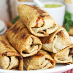 Easy Oven Baked Chimichangas Recipe