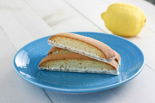 Lemon Biscotti from Food Babbles