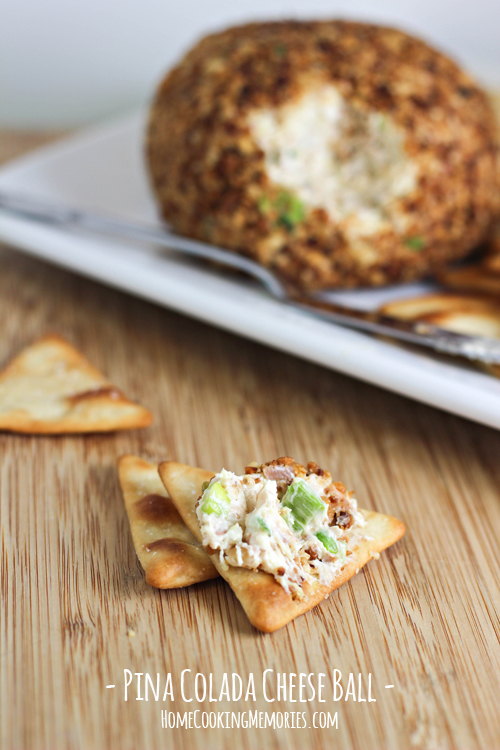 Pina Colada Cheese Ball