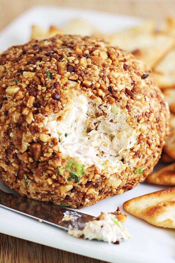 Pina Colada Cheese Ball Recipe