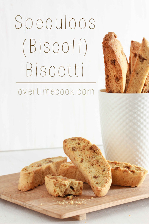 Speculoos  Biscoff  Biscotti from Overtime Cook