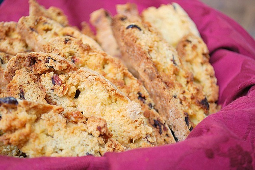 White Chocolate Cranberry Biscotti from Joelens What's Cooking Chicago