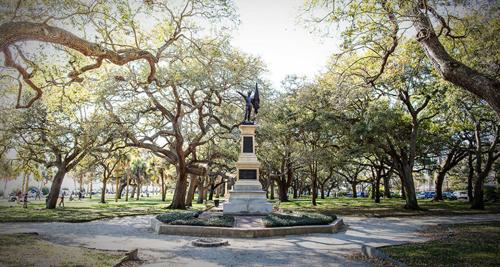 White Point Garden in Charleston, SC