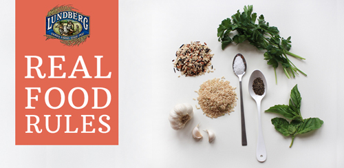 Lundberg Family Farms Real Food Rules Giveaway on Facebook