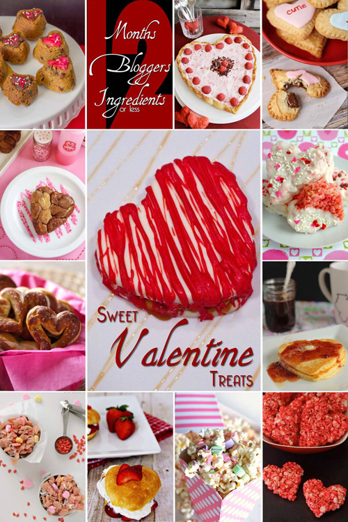 #12Bloggers Monthly Event: Sweet Valentine Treats
