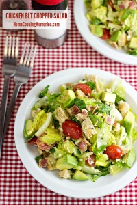 Chicken BLT Chopped Salad