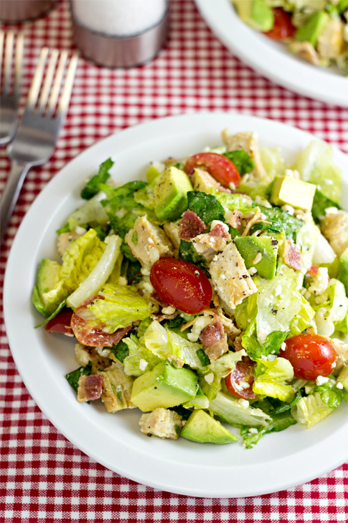 Chicken BLT Chopped Salad #15MinuteSuppers