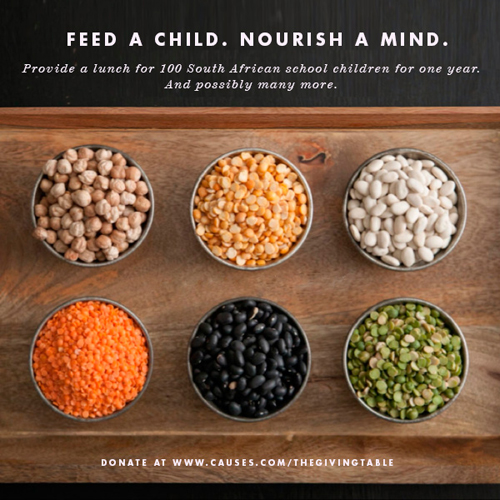 The Giving Table: Feed a Child,  Nourish a Mind