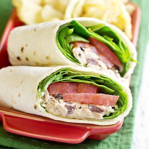 Greek Tuna Salad Wraps Recipe -sq
