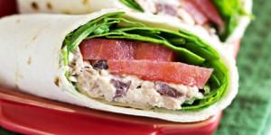 Greek Tuna Salad Wrap Recipe