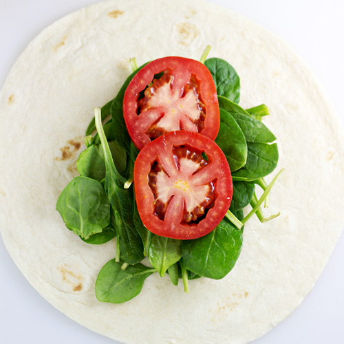 Greek Tuna Salad Wrap recipe