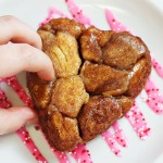 Heart Shaped Monkey Bread for Valentine's Day