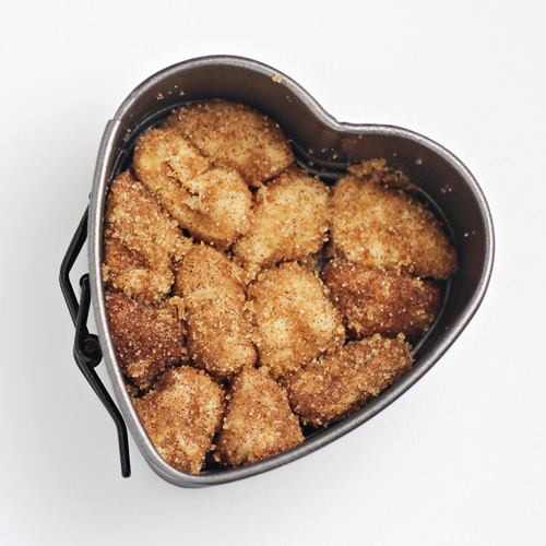 Mini Heart-Shaped Monkey Bread 1