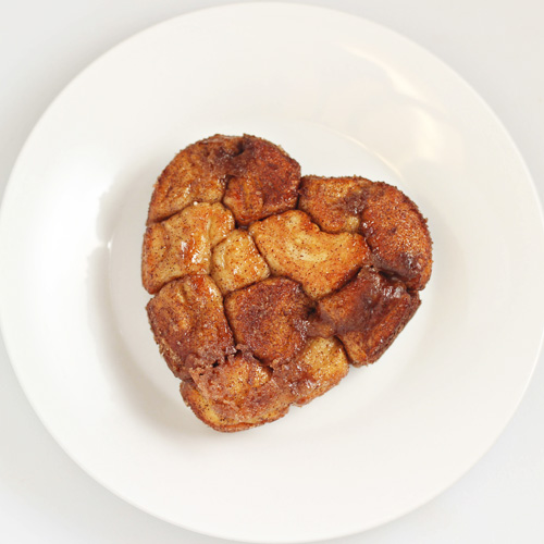 Mini Heart-Shaped Monkey Bread 5