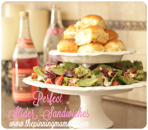 Perfect Slider Sandwiches by The Pinning Mama