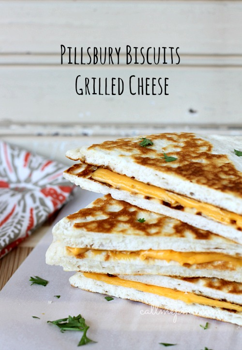 Pillsbury Biscuits Grilled Cheese by Call Me PMC