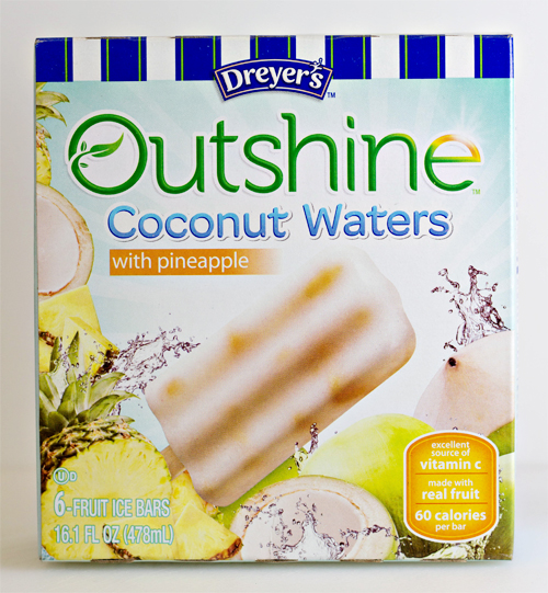 Dreyer's Outshine Coconut Waters with Pineapple  #Outshine