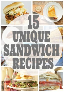 15+ Unique Sandwich Recipes