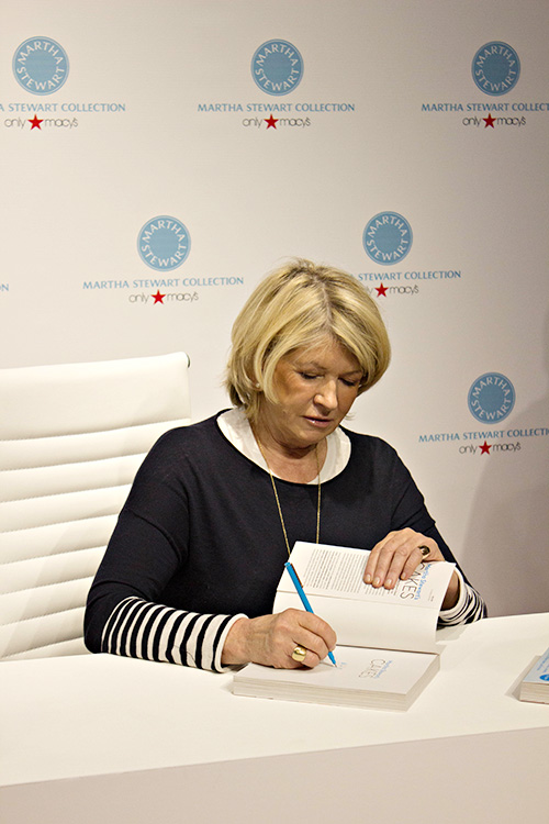 Martha Stewart's Cakes Book Signing Event at Macys in Las Vegas