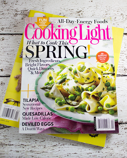 Cooking Light Magazine - April 2014