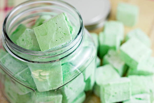 Homemade Mint Tea Marshmallows Recipe