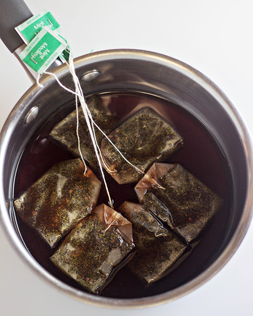 Mint Tea Marshmallows - Bigelow Mint Medley Tea #12Bloggers