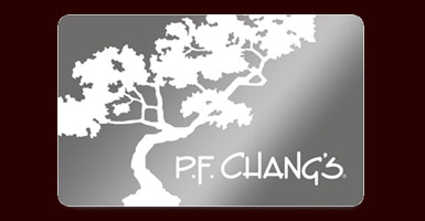 PF Changs Gift Card Giveaway