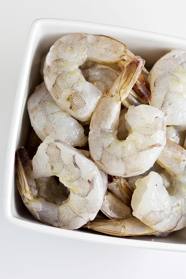 Peeled and Deveined Raw Shrimp
