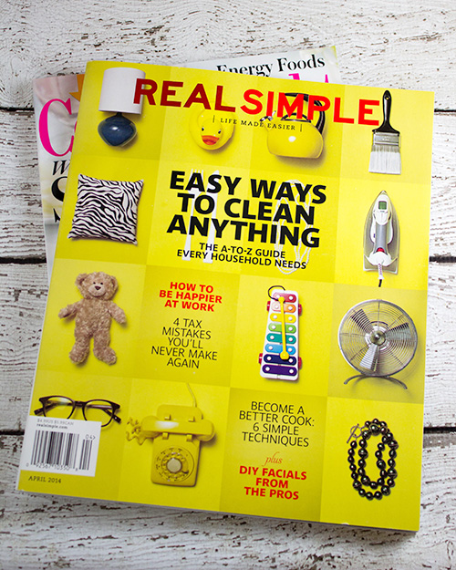 Real Simple Magazine - April 2014