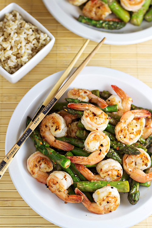 and asparagus shrimp and asparagus with shrimp chili paste stir fry ...